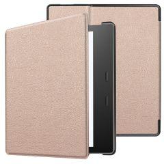 iMoshion Slim Hard Case Booktype Amazon Kindle Oasis 3 - Roségold