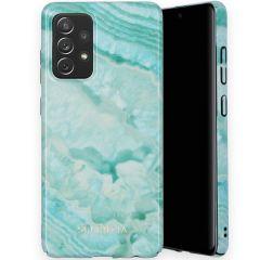 Selencia Maya Fashion Backcover Samsung Galaxy A72 - Agate Turquoise