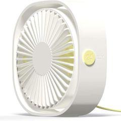 iMoshion USB Schreibtischventilator - Weiß
