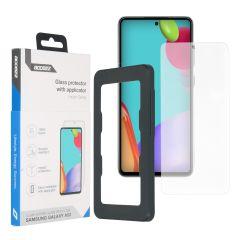 Accezz Glass Screenprotector + Applicator für das Samsung Galaxy A52(4G) / A52(5G) / A52s