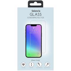 Selencia Displayschutz aus gehärtetem Glas iPhone 13 Mini