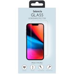 Selencia Displayschutz aus gehärtetem Glas iPhone 13 Pro Max
