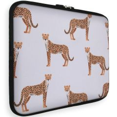 iMoshion Universele Design Sleeve 13 Zoll - Cheetah