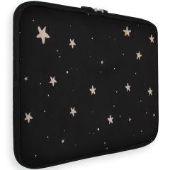 iMoshion Universele Design Sleeve 13 Zoll - Stars Gold