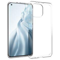Accezz TPU Clear Cover für das Xiaomi Mi 11 - Transparent