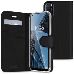 Accezz Wallet TPU Booklet für das Oppo A52 / A72 / A92 - Schwarz