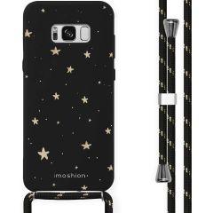 iMoshion Design Hülle mit Band Samsung Galaxy S8 - Sterne - Gold