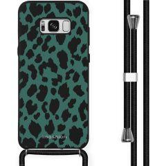 iMoshion Design Hülle mit Band Samsung Galaxy S8 - Leopard - Grün