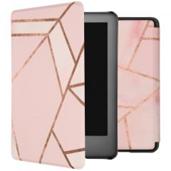 iMoshion Design Slim Hard Case Booktype Amazon Kindle 10