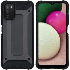 iMoshion Rugged Xtreme Case für das Samsung Galaxy A03s - Schwarz