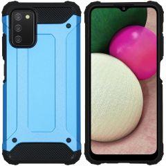 iMoshion Rugged Xtreme Case für das Samsung Galaxy A03s - Hellblau