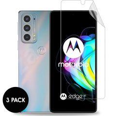 iMoshion Displayschutz Folie 3er-Pack für das Motorola Edge 20