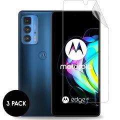 iMoshion Displayschutz Folie 3er-Pack für das Motorola Edge 20 Pro