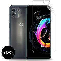 iMoshion Displayschutz Folie 3er-Pack für das Motorola Edge 20 Lite