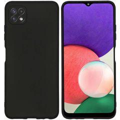 iMoshion Color TPU Hülle für das Samsung Galaxy A22 (5G) - Schwarz