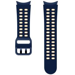 Samsung Sport Band Extreme Watch S/M für das Galaxy Watch / Watch 3 / Watch 4 / Active 2 / Classic 4 : 40-41-42-44mm - Blau