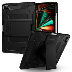 Spigen Tough Armor Pro Backcover für das iPad Pro 12.9 (2021) - Schwarz