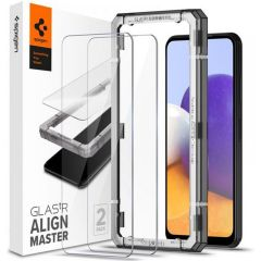 Spigen AlignMaster Full Cover Screen Protector 2-Pack für das Samsung Galaxy A22 (5G)